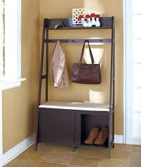 Coat Rack With Storage Bench Entryway Bench And Coat Rack Treenovation 23