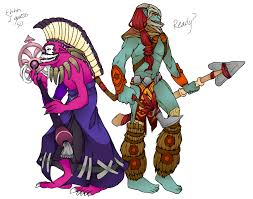 huskar and dazzle by greenm00se on deviantart