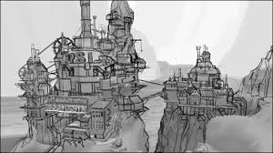 Image result for game environment concept art