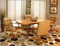 leather dining room chairs with casters dining room chairs with casters amazing for inside plan leather