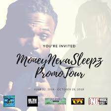 Moneynevasleepz Promo Tour '18 | Da Foundation | Welcome To Alleyway ...