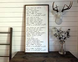 farmhouse decor etsy