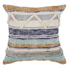Funky throw pillows Itforum Co Lr Home Funky Striped Chevron Multi Natural Throw Pillow 18 Walmart Lr Home Funky Striped Chevron Multi Natural Throw Pillow 18
