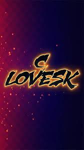 C lovesk as a ART Name Wallpaper ...