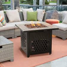patio furniture with fire pit table. Interesting Fire Coral Coast South Isle Fire Pit Chat Set With Mosiac Throughout Patio Furniture With Table A