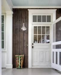 farmhouse style front doorsfront door with old style screen door and transom love love