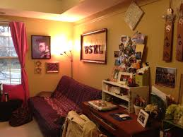 marvelous college dorm room ideas with brown wooden desk ed f white storage shelves above the and pink fabric curtain on