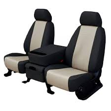 faux leather seat cover sandstone sport