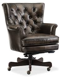 I Hooker Furniture Theodore Home Office HighBack Leather Executive Chair U0026  Reviews  Wayfair