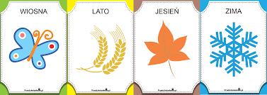PORY ROKU plansze, karty pracy, etykiety, emblematy… – Przedszkolankowo