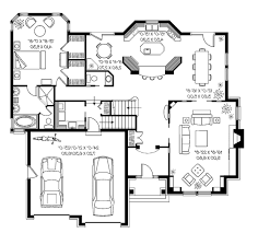 ... House Plan Modern Style Striking Amusing New Floor Plans ...