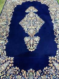 blue oriental rug high value superior navy made end of 9 x 12