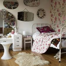 Shabby Chic Teenage Bedroom Stylish Floral Wallpaper For Small Bedroom Ideas For Teenage With
