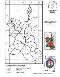 Free Stained Glass Patterns Flowers