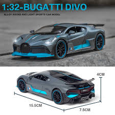 Material die cast with some pvc parts. Contemporary Manufacture 1 24 Bugatti Divo High Speed Die Cast Metal Alloy Toy Race Car New Gift For Kid Thundercanyonbrewery