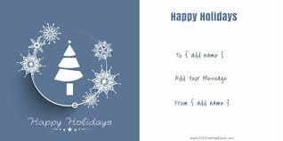Happy Holiday Card Templates Free Christmas Card Templates