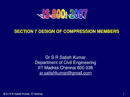 Design Of Lacing And Battens Section 7 Design Of Compression Members Ppt Download