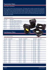 Fluorimeter Filters Jenway Pdf Catalogs Technical