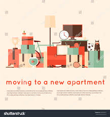 New Apartment moving into new apartment bunch things stock vector 293639555 7732 by uwakikaiketsu.us