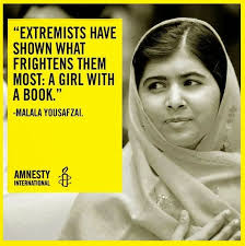Malala Quotes Extraordinary Ladies I Love Y Is For Malala Yousafzai Education Equality