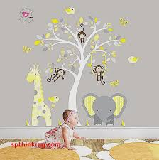 baby nursery yellow grey gender neutral. Baby Nursery Themes Wall Decals Gender Neutral Unique Jungle Decal Yellow And Grey Decor Feat Cheeky