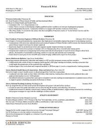 Sample Resume For On Campus Job Resumeexample24 Resume Cv Design Pinterest Resume Cv 19