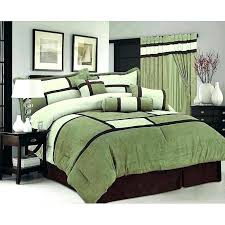 olive green bedding