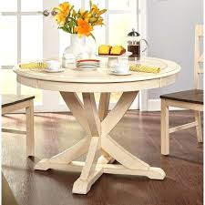 simple living vintner country style antique white round dining country style dining table for