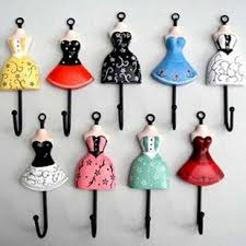 Wholesale Clothes Rack Hanging Hook Wall Key Holder Necessities Of Home New  Design Hot Sale 50PCS