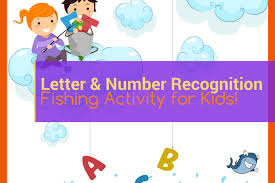 Convert alphabetical text to phonetical form. Letter Number Recognition Fishing Activity For Kids Mama Shark