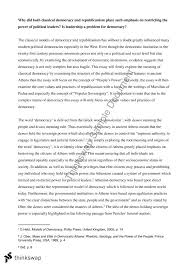 minor essay pol democracy in theory and practice thinkswap minor essay