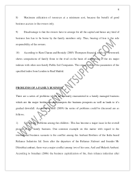 accounting family business essay sample from assignmentsupport com es  7