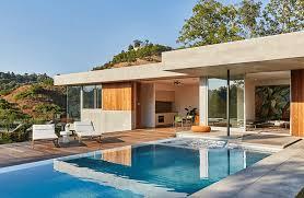 modern guest house. Jason Lev\u0027s Newly Built Modern Guest House