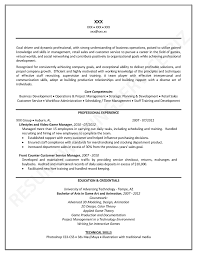 Example Of Professional Resume Examples Of Resumes