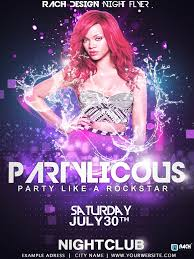 flyer template party licous by rachix on flyer template party licous by rachix