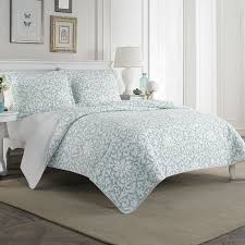 Laura Ashley Home Mia 100% Cotton Quilt Set by Laura Ashley Home ... & Mia 100% Cotton Quilt Set by Laura Ashley Home Adamdwight.com