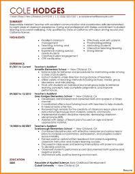 5 Curriculum Vitae Sample For Teaching Job Hvac Resumed
