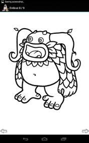 Small Picture My Singing Monsters Coloring Pages Sketch Coloring Page