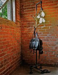 Floor Lamp Coat Rack POSSUM BELLY INDUSTRIAL FLOOR LAMP COAT RACK Oilfield Slang 8