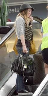 Musings of a goyard enthusiast. Outfit Idea Goyard St Louis Tote In Yellow Worn By Hilary Duff Howtowear Clothing