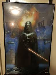 star war frame poster
