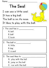 Free Reading Comprehension Passages with Text-Based Questions ...