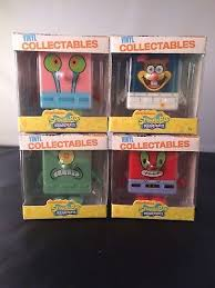 Mr Krabs Vending Machine Stunning LOT OF 48 Spongebob Vinyl Collectables Gary Sandy Mr Krabs