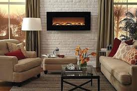 40 inch electric fireplace insert touchstone onyx wall mounted with heater wide