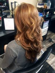 Blush Tone Hair Curls Hair Color