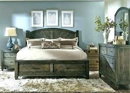 Modern Reclaimed Wood Bed Rustic Bedroom Furniture Wooden Sets Urban ...