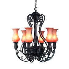 eurofase richtree collection 6 light aged bronze hanging chandelier