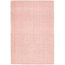 torpoint chunky weave jute rug pink