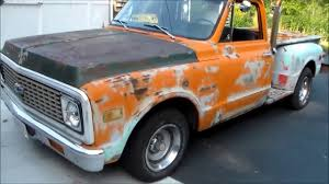 1972 Chevy C10 One Owner Barn Find For Sale By Vtwinstov8s.com ...