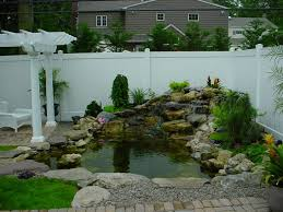 Small Picture Small Backyard Fish Pond Ideas Small Garden Pond Designs Small